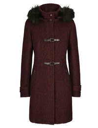 Toggle Boucle Coat